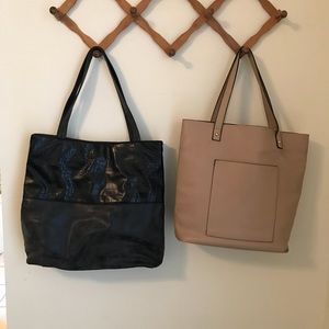 Handbags - Lot of 2 Forever 21 tote bags